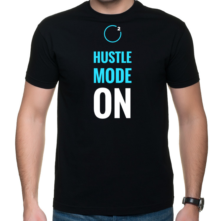 T-SHIRT - Hustle mode ON